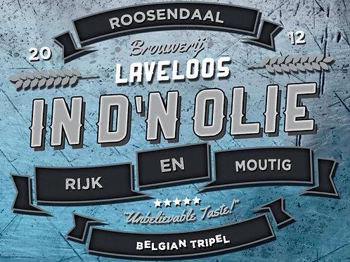 In d'n Olie - Tripel - Brouwerij Laveloos