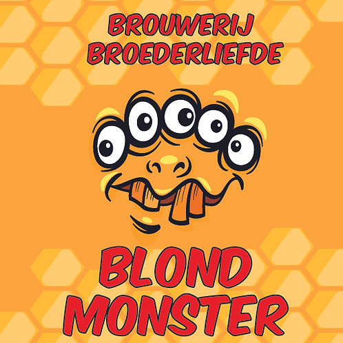 Blond Monster  - Blond - Broederliefde
