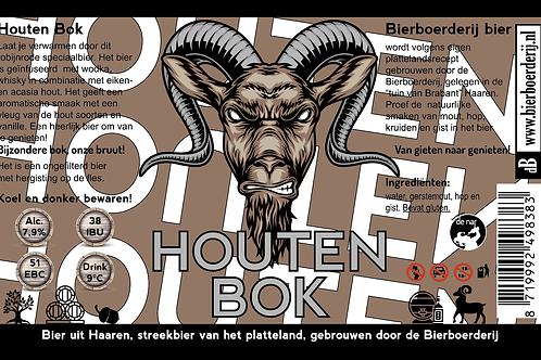 Bierboerderij - Houten bok