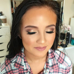 highlight, Sundipped Glowkit, Brow Powder in Dark Brown__dinairairbrush Airbrush Fo