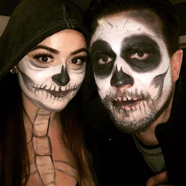 Happy Halloween from me & my boo thang