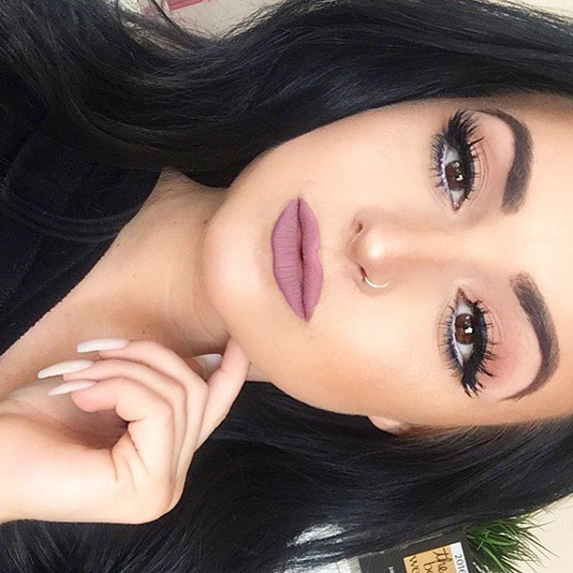 _anastasiabeverlyhills Brow Definer Dark Brown__colourpopcosmetics Trap Liquid Lipstick __tartecosme