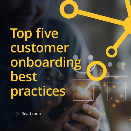 Onboard your corporate banking clients like your favourite airline.