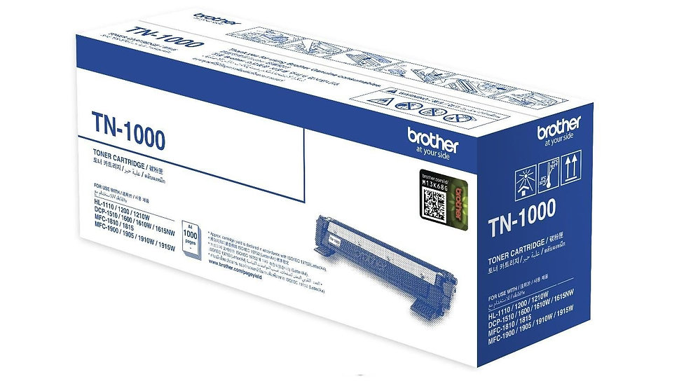 Brother TN-1000 Toner Cartridge (1000 pages)