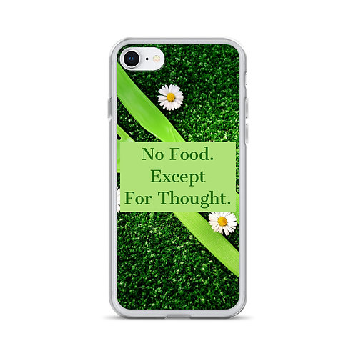 Picnic Party Glitter iPhone Case