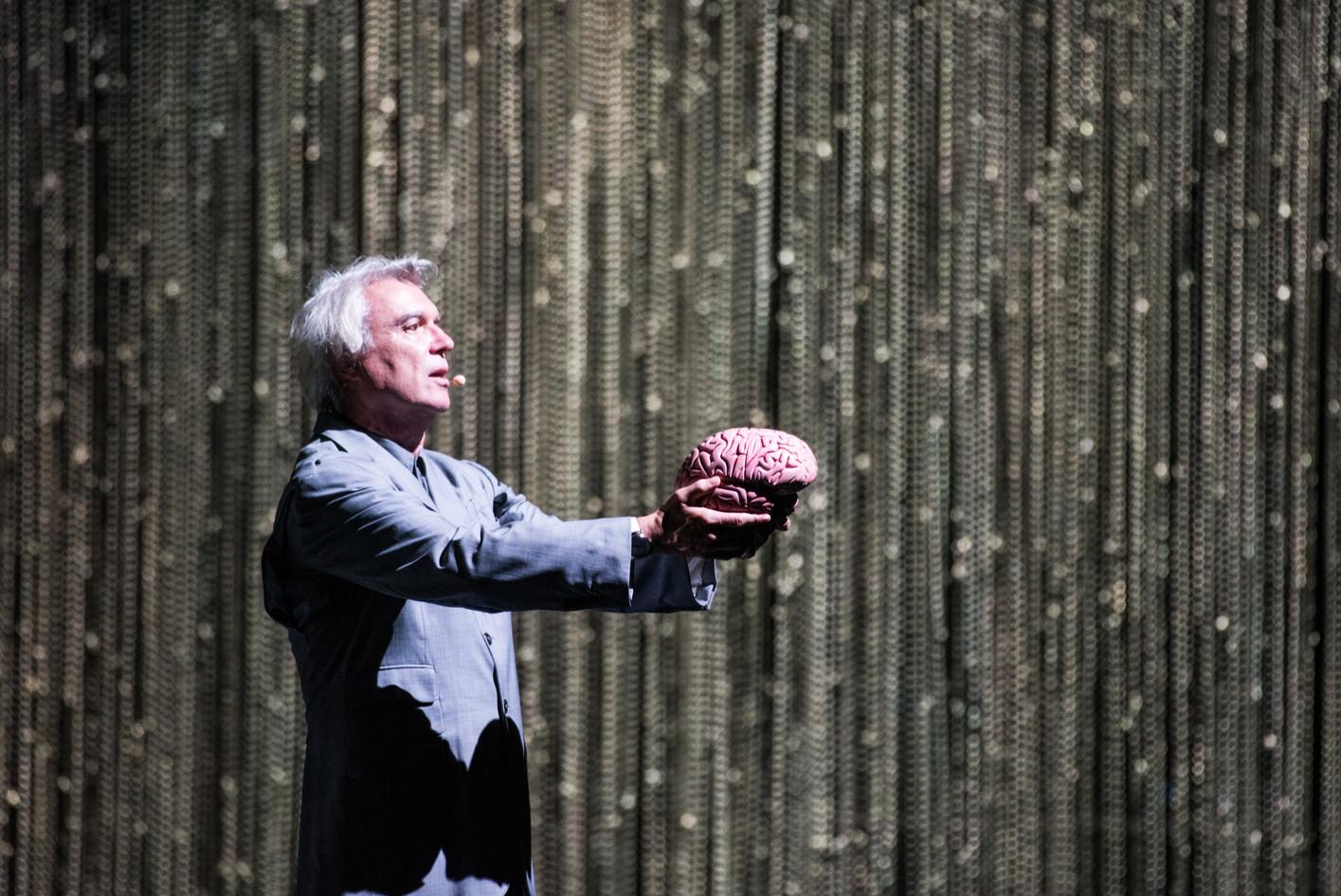David Byrne at The Shrine Auditorium