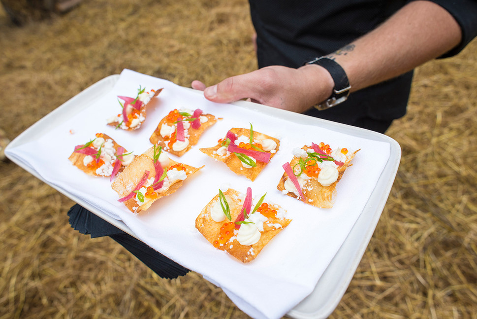 opening-seafood-bites-at-forest-feast-by