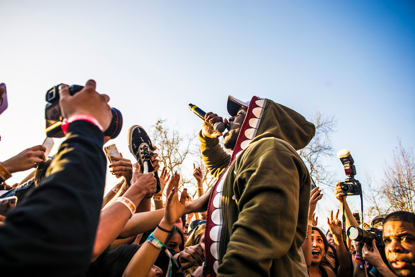 A$AP Ferg  at Air and Style