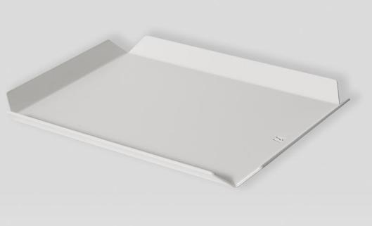 Fold Tray Small / Pale Grey