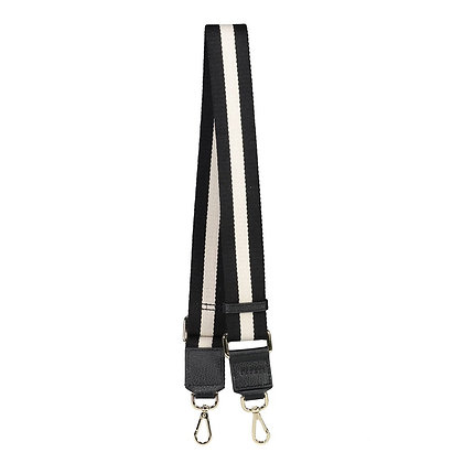 Contrast Strap - Black and White