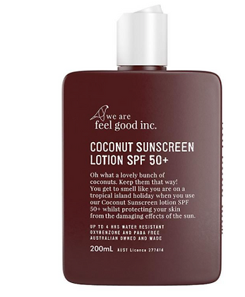 We Are Feel Good Sunscreen - Coconut 200ml