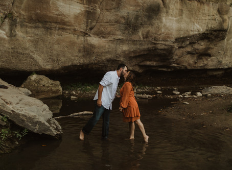 Jessie + Drake's Adventurous Iowa Engagement