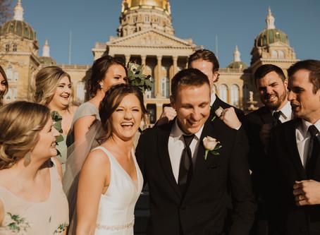 Abigail + Jake's Des Moines Wedding Day