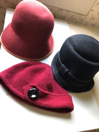 Felted and Boiled Wool Hats