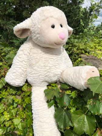 Hugh Size Marshmallow Lamb