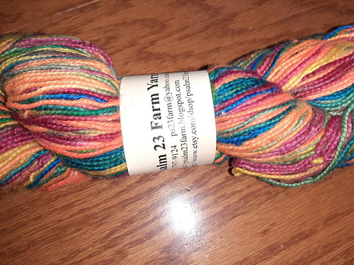 Wool Blend Sport Weight Hand Dyed Yarn