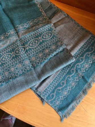 Asian Eye Wool/Silk Blend Scarves