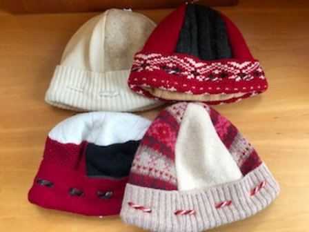 Katie Ames Wool Recycled Wool Hats