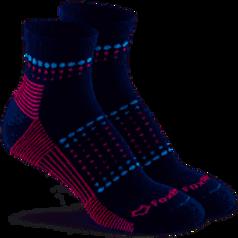Fox River Sunrise Navy Merino Wool Blend Crew Sock