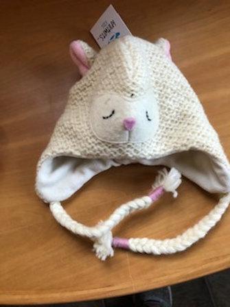Kids Toddler Wool Knit Lamb Hat