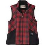 Ida Outfitter Red/black Ladies wool Vest