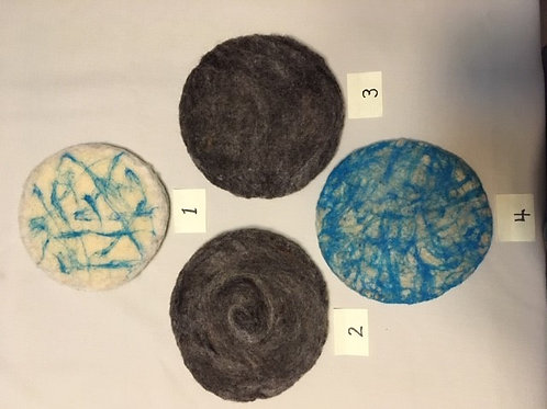Wool Needle Felted Hot Pot Pads