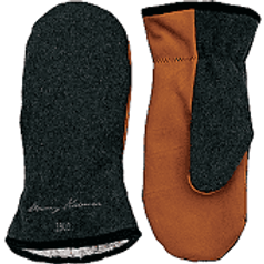 Stormy Kromer Tough Mitts in Charcoal