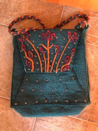 Wool Felted Purses