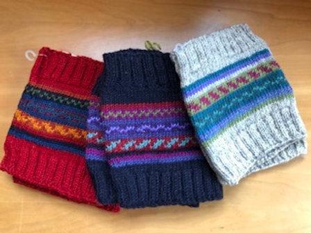Leg Warmer Wool Boot Cuffs