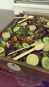 sharing salad