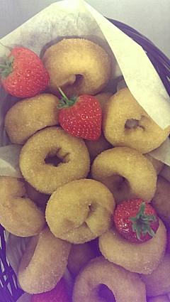 minin sugared doughnuts
