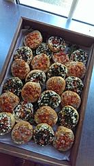 mixed bruschetta selection