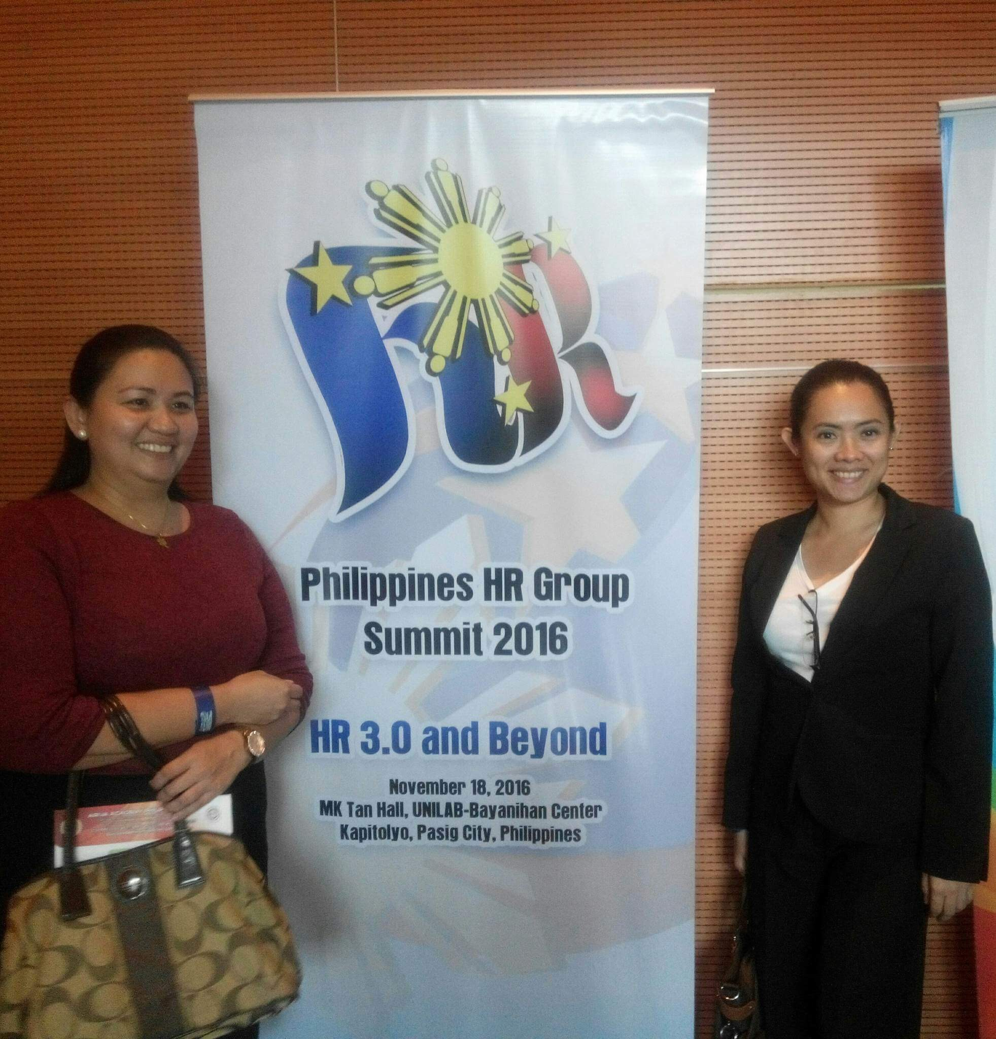 Attending Philippine HR Summit