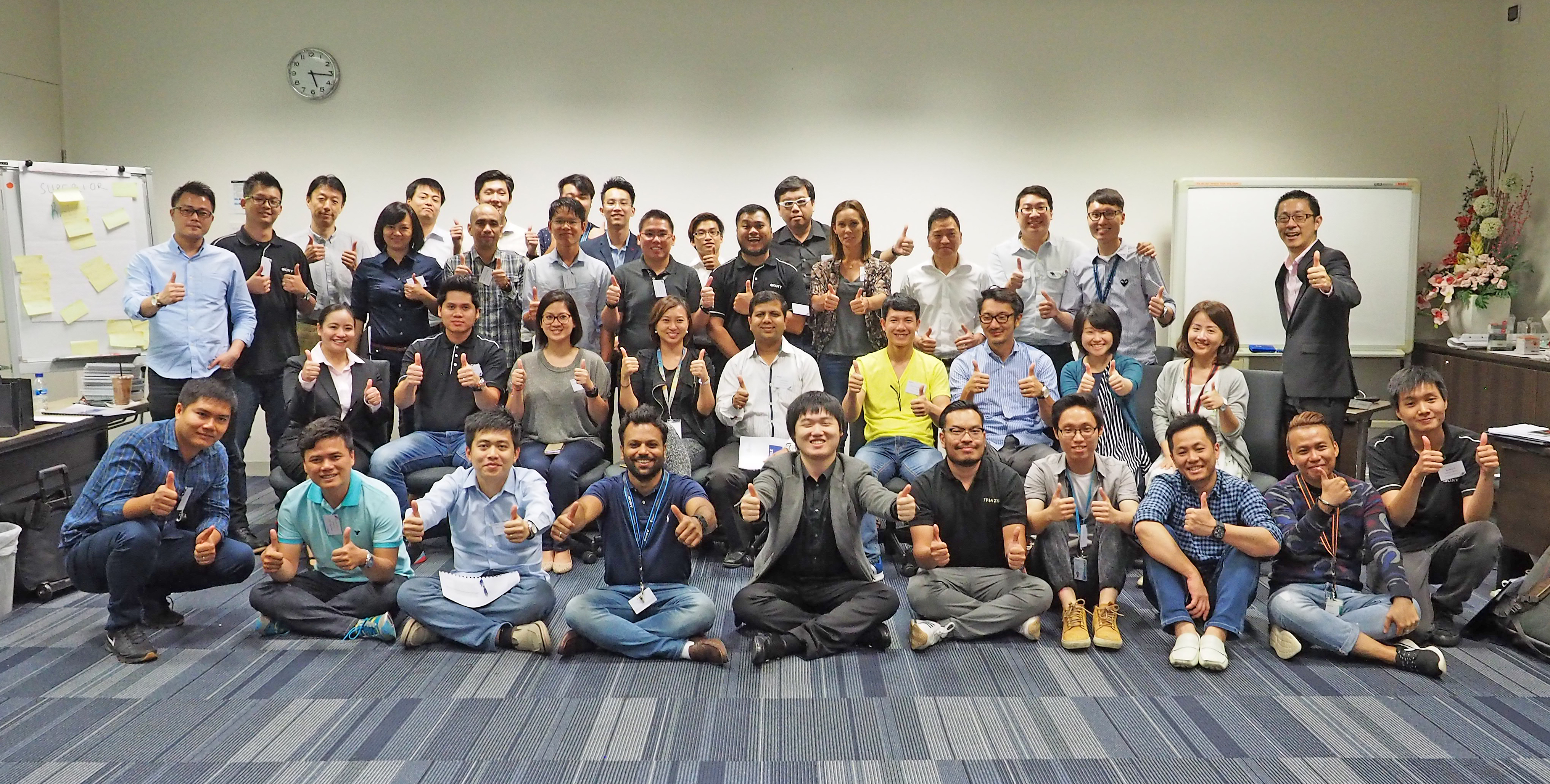 Sony Mobile Group Photo