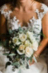 bride bouquet moody