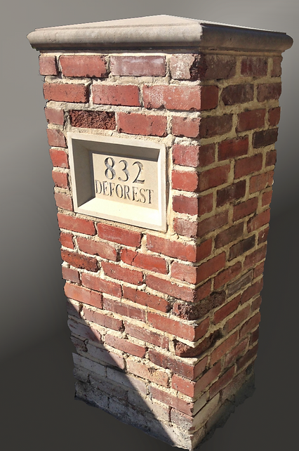 Combining modern mortars with vintage brick can cause brick to deteriorate.