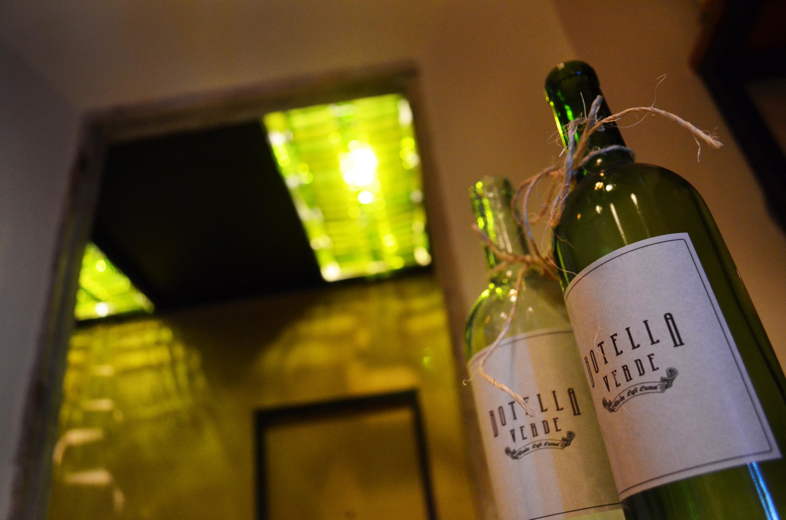 15 Botella Verde