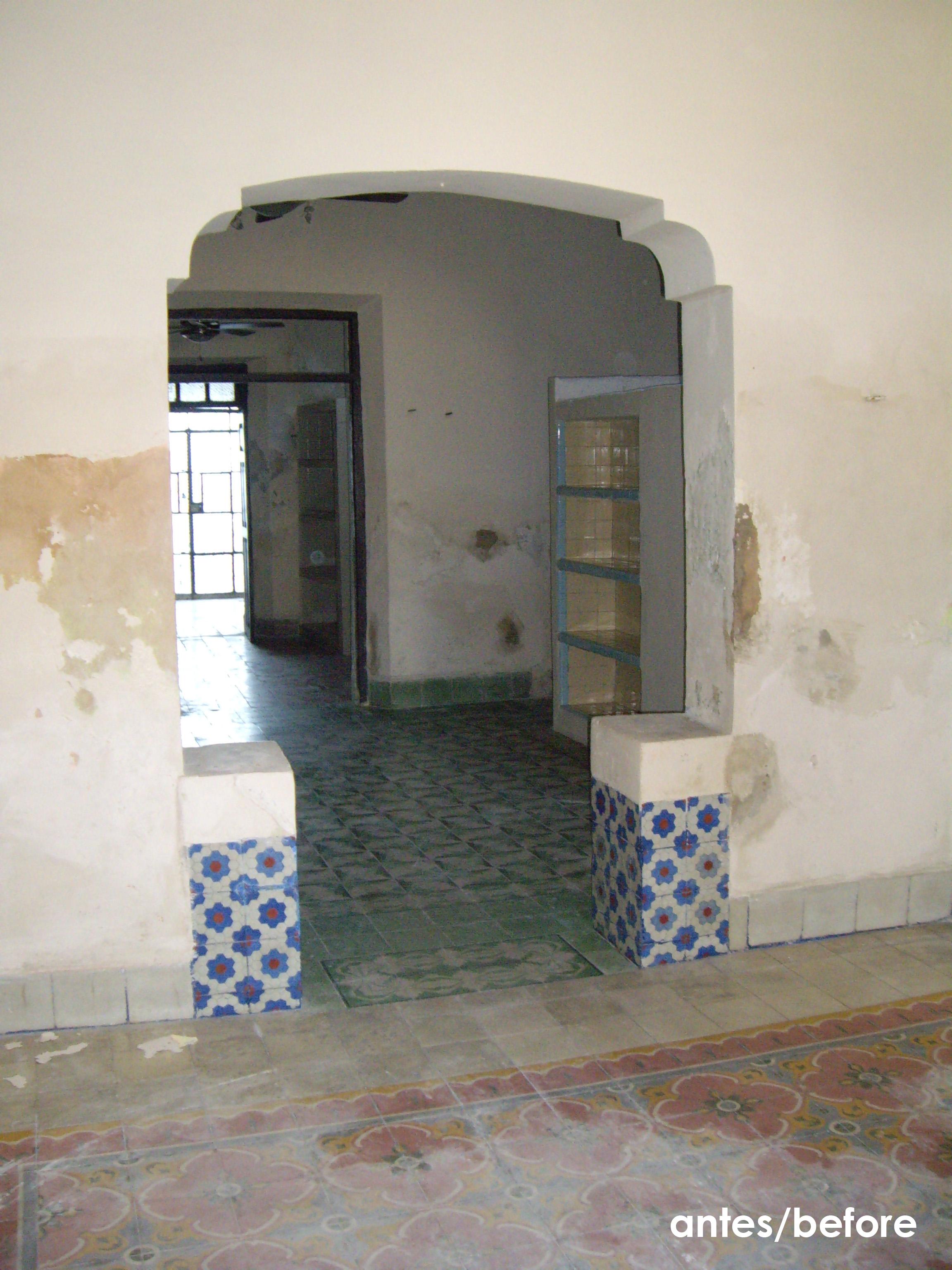 entrance 1, antes