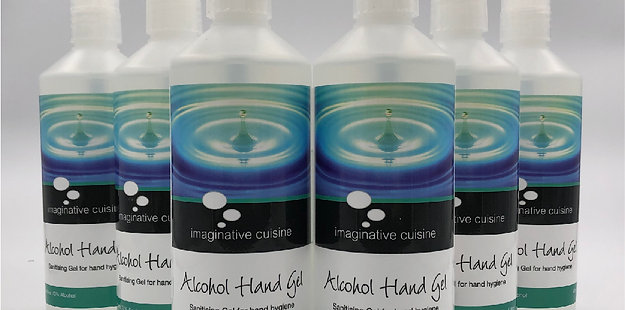 Alcohol hand Gel 6 x 500ml hand sanitiser 70% alcohol