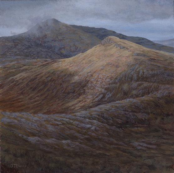 'Hecla from Beinn Mhor, Isle of Uist'  Quintin Davies