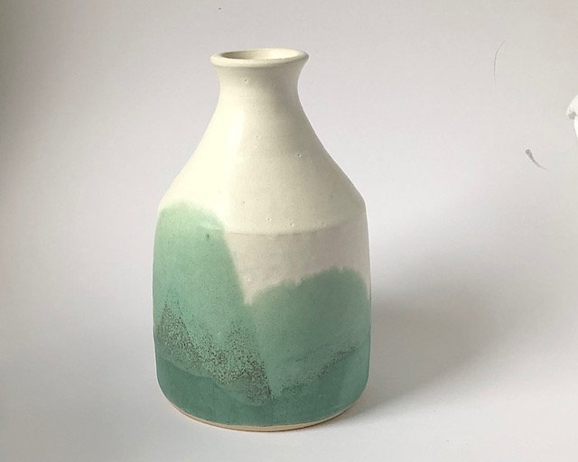 'Mountain Spring Vase' Fiona Leask