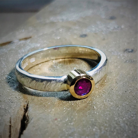 'Ruby Ring'  Beverley Hutton Moore
