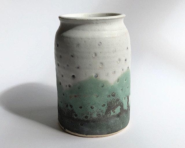 'Mountain Rain Vase Large' Fiona Leask