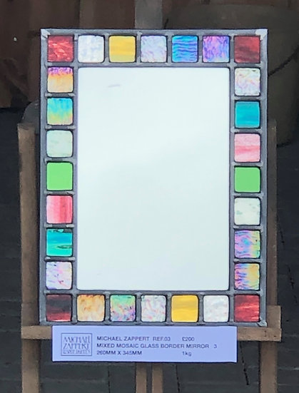 'Mixed Mosaic Mirror V3' Michael Zappert