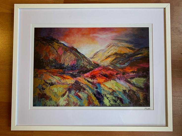 'Towards Loch Muick'  Myrtle Watt