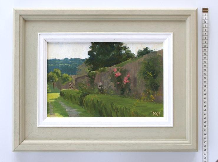 'Sleepy Garden Wall' Melanie Harrison