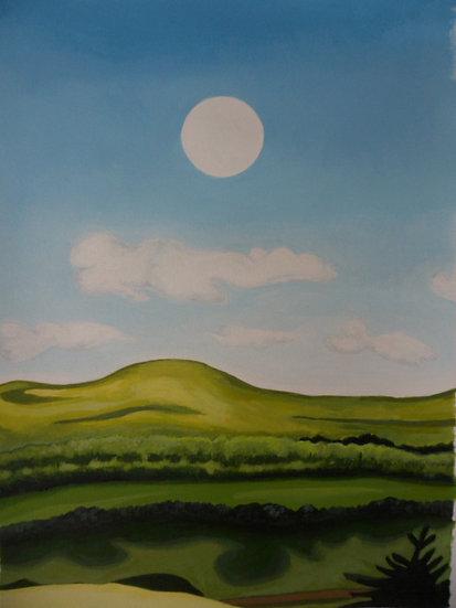 'Morning Moon'  Emma Rodenhurst Grant