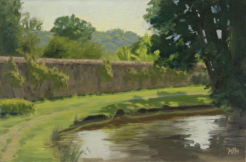 """Pretty Pond in Morning Light"" Melanie Harrison"
