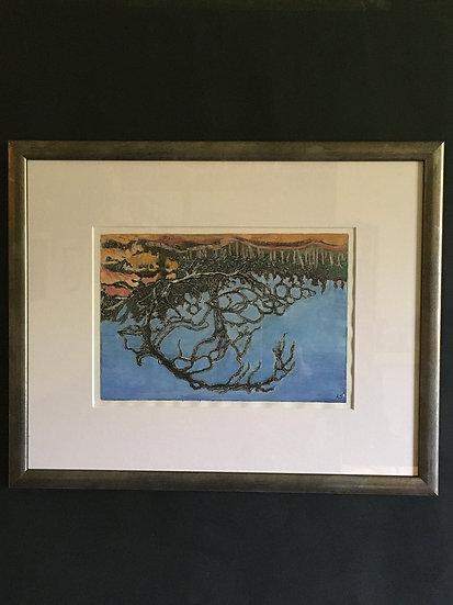 'Reflection,Queen's Loch' Anna Sedgwick