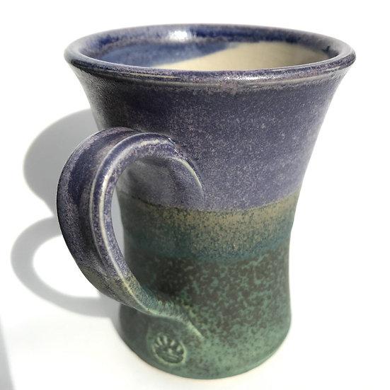 Concave 'Green Hills' Mug  Fran Marquis